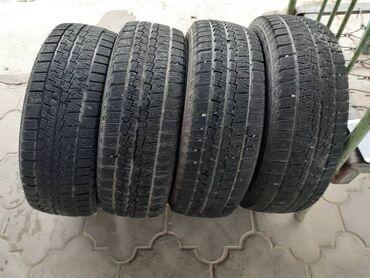 Шины для грузовиков - Кыргызстан: Продаю зимние шины в идеальном состоянии почти новые. размер 185/60r15