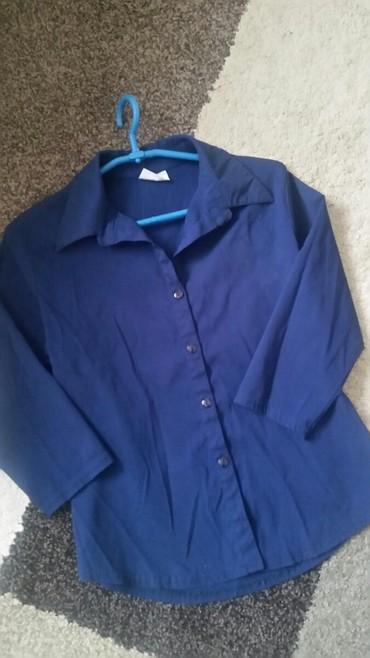 Košuljica Pimkie zenska , veličina S .Nošena .Teget boje i 7/ 8 rukavi - Pirot