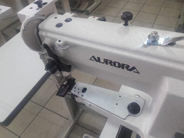 Рукавная машина aurora. для сшивания кожи. в Бишкек