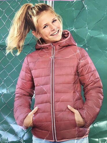 Куртка на девочку, ростовка 146, на 11 лет, цвет пыльная роза, пр-во