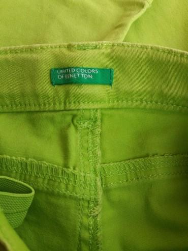 Benetton καπρι λαχανι παντελονακι 24 μ. 90 εκ. σε Αθήνα - εικόνες 3