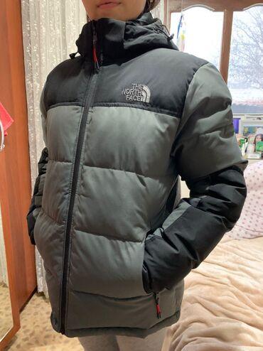 гор юст бишкек в Кыргызстан: Мужская термо куртка The North Face Отлично подойдёт для зимы и похода