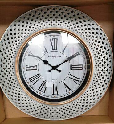 Kućni dekor - Bela Palanka: Zidni veliki beli sat  IMA VISE KOMADA NA STANJU STANJE : NOVO / NE KO