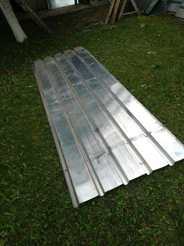Prodajem polovni aluminijumski TR lim d= 1mm27 tabli dimenzija 115cm x
