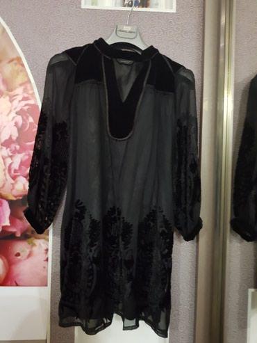 Платье с бархатными вставками, р 42-44пр-во Турция