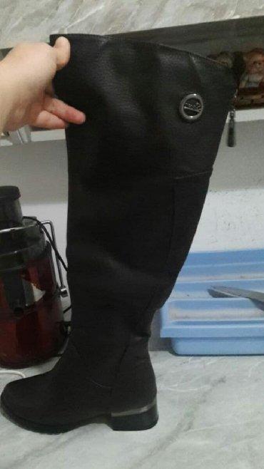 Qadın ayaqqabıları Lökbatanda: Çəkmələr 36