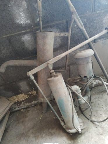 Колонка с насосом насос Кама в Кант