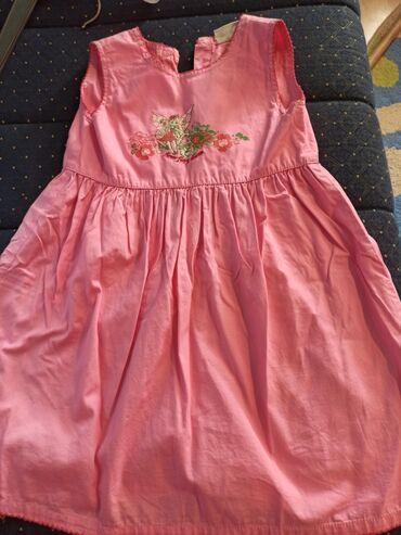Decije haljine - Krusevac: Prelepa pamučna haljinica u roze boji za devojčice do 4 godine (104