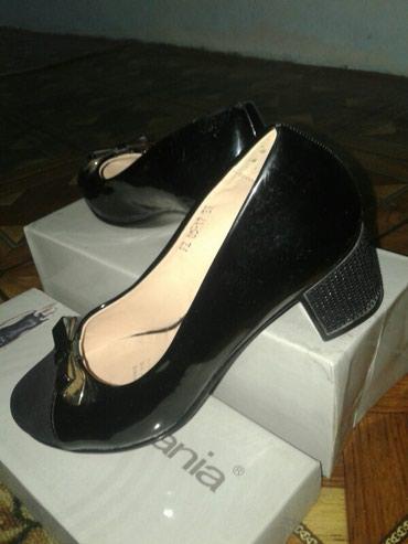 туфли одели один раз в Кыргызстан: Туфли классика отл. сост.раз-37.Один раз одела велика было