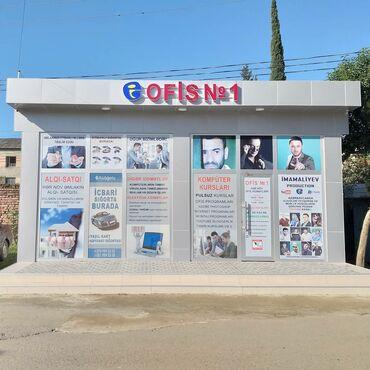 """150 m2 ofislr - Azərbaycan: Lənkəranda, 1 ci Mikrorayonda, """"Araz"""" kursunun yanında ofis satıram"""