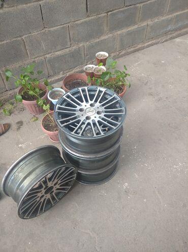 диски 4 100 14 в Кыргызстан: Продаю титан 14 на 4 на 100 фитке тушот
