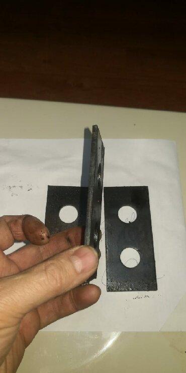 Для дробилок Кду молотки Размер: мм,110*50*5, диаметр отверстия 20 мм