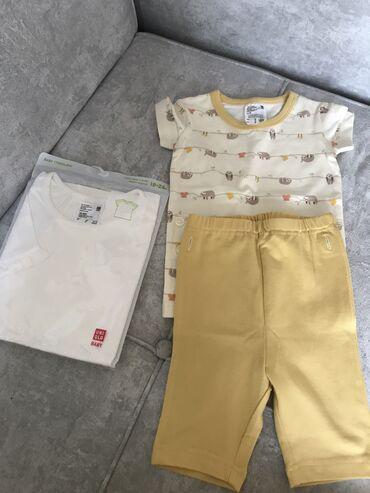 Пижама Uniqlo 12-18 750 сом футболка Uniqlo 18-24 550сом