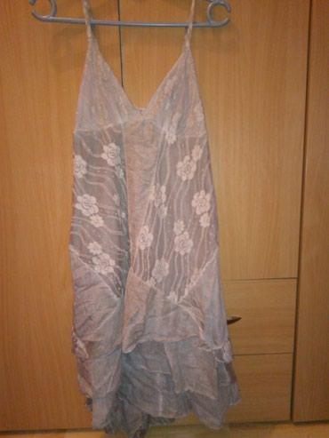 Letnja haljina, kao nova. Odgovara za m i l. Pozadi malo duza. - Belgrade