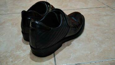 Кожаные детские туфли (Турция, 32 размер). На мальчика 7-8 лет