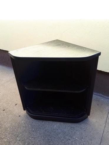 Kuća i bašta - Backa Topola: Ugaoni element dim 50x50x71 crne boje,u odlicnom stanju
