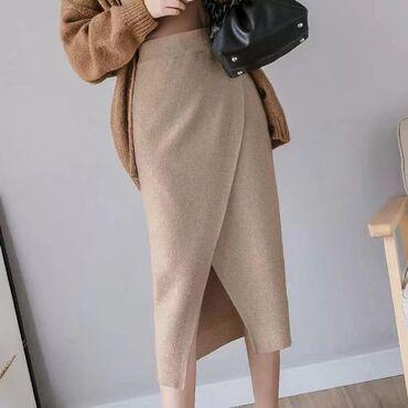 Трикотажные юбки // цена 1100сом // Китай