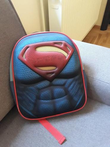 Superman deciji ranac za vrtic i trening  - Vrsac