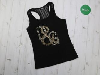 Женская майка Dolce & Gabbana   Длина: 56 см Пог: 38 см Нюансы: ме