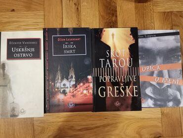 Cetiri knjige, trileri i misterija, 900din