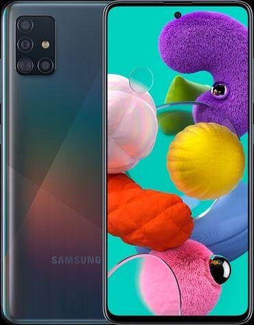 Samsung galaxy a51 6/128 ideal veziyyetdedi.karobkasi,adaptir,nausnik