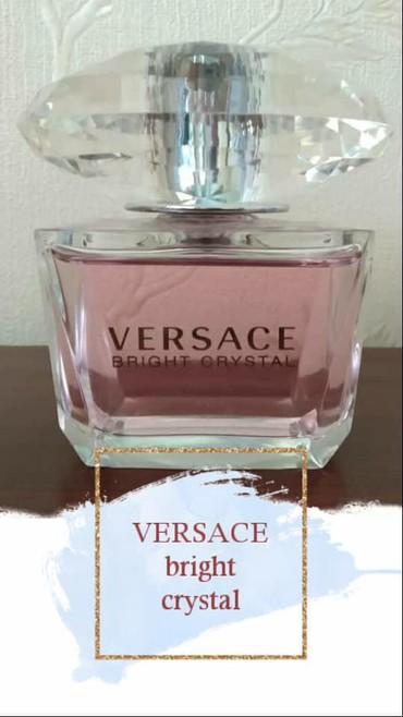 versace muzhskaja odezhda в Кыргызстан: Туалетная вода VERSACE bright crystal 90ml оригинал сделаны в Италии
