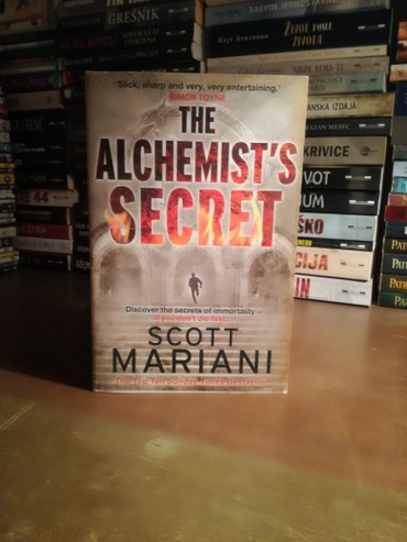 The Alchemists secret Scott Mariani . nova knjiga Alhemicareva formula - Kikinda