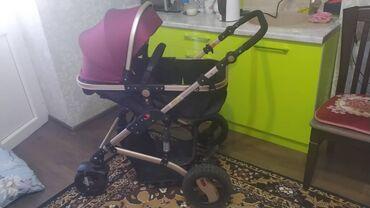 Детский мир - Ак-Джол: Продаю б/у коляску в отличном состоянии. Пользовались совсем чуть чуть