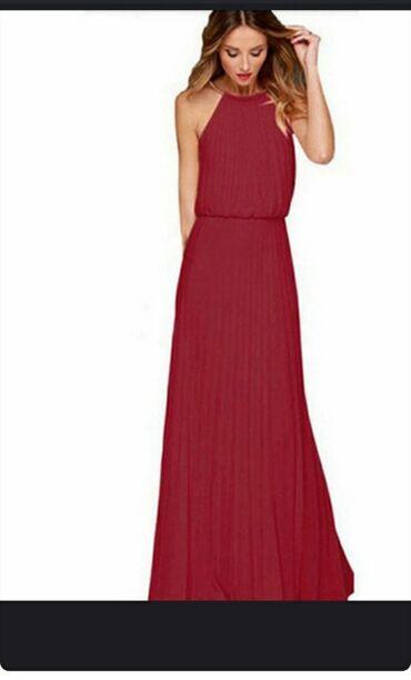 Prelepa.duga haljina.za sve prilike