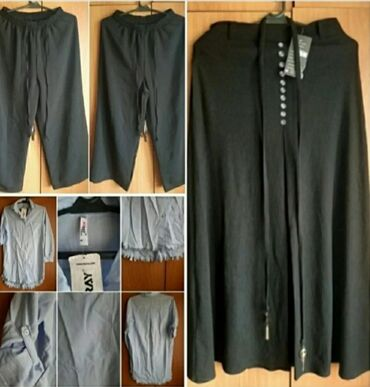 Штаны новые летние размер стандарт. За 350. Рубашка Турция новая