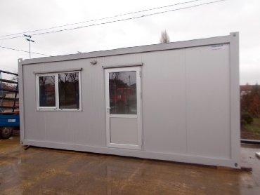 Ostale poslovne nekretnine - Srbija: Argus EKONOMIK, kontejneri sa krovom od sendvič panelaEKONOMIK