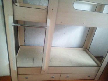 Двухярустная детская кровать, состояние хорошее. в Бишкек