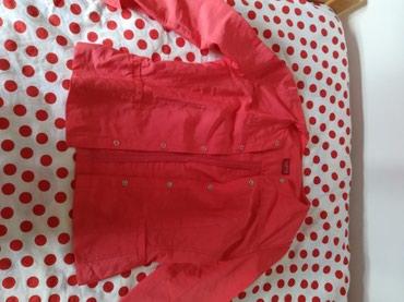 Košulje i bluze | Pozega: Snizeno! Sako koralne boje.Taifun. Bez postave, boja lubenice,48cm