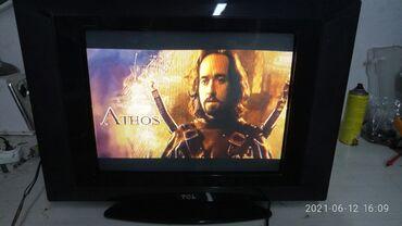 Телевизор Tcl кинескопный размер 51см. Изображение отличное
