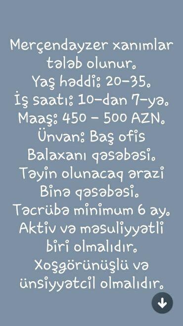 - Azərbaycan: Merçendayzer xanımlar tələb olunur.Yaş həddi: 20-35.İş saatı: 10-dan