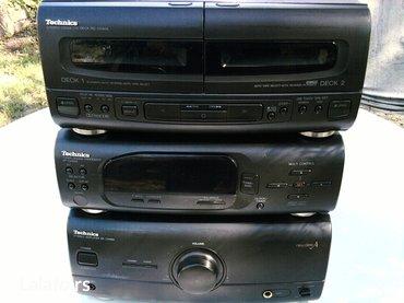 Tehnics micro stereo sistem-3 komponente se-ch404 - Zrenjanin