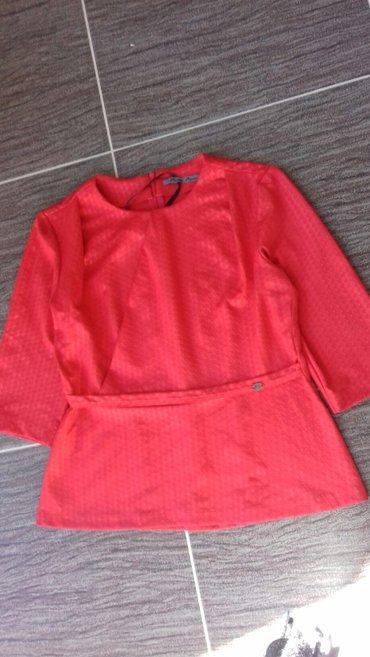 Košulje i bluze | Novi Pazar: Crvena bluza pies nova 40 br poklon ide uz kupljenu bluzu