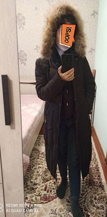 Зимняя куртка теплая, в отличном состоянии