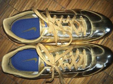 Nike sprint sister gold, broj 45. Jednom obuvene. Bez oštećenja. - Belgrade