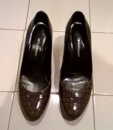 Παπούτσια καφέ Καλογήρου Νο.6 σε Athens