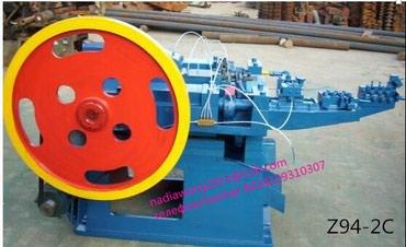 шредеры 16 в Кыргызстан: Станок для производства гвоздей z94-2c 16-50mmновый китайского