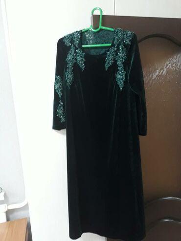 платье из королевского бархата в Кыргызстан: Платье Вечернее Angelina XL