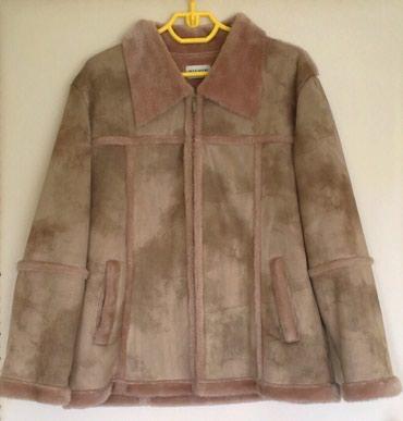 Krzneni kaputi - Nis: Ženska braon jakna/bundica, veličina L