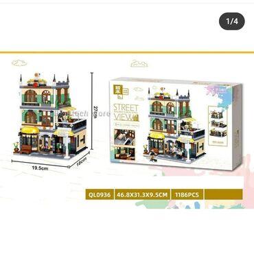 Konstruktor Lego (6+) ic sayi - 1186 detal. Qiymeti - 80 azn