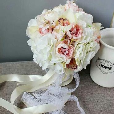 Букеты невесты из искусственных цветов любой сложности на заказ! в Лебединовка