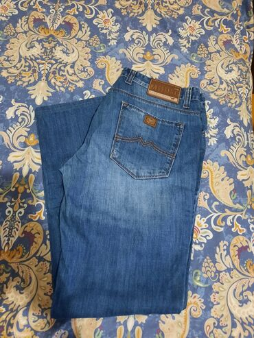 Джинсы - Сокулук: Мужские джинсы фирма,мустанг,, отличного качества! Состояние хорошее
