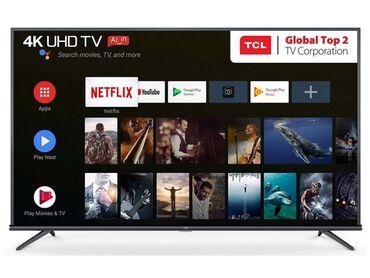 Телевизоры TCL 50 P8M 4K Android с голосым управлением  Смарт, андрои