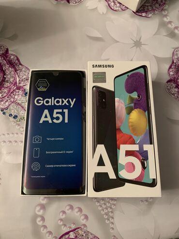 İşlənmiş Samsung A51 128 GB qara