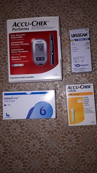 Paket za kontrolu glukoze u krvi - Kraljevo