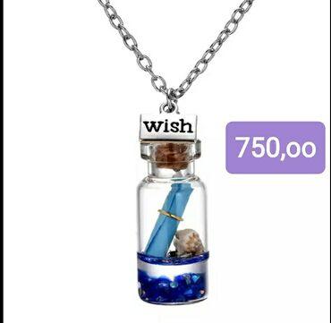 """2895 oglasa: Ogrlica""""ŽELJA"""" sa porukom u boci"""